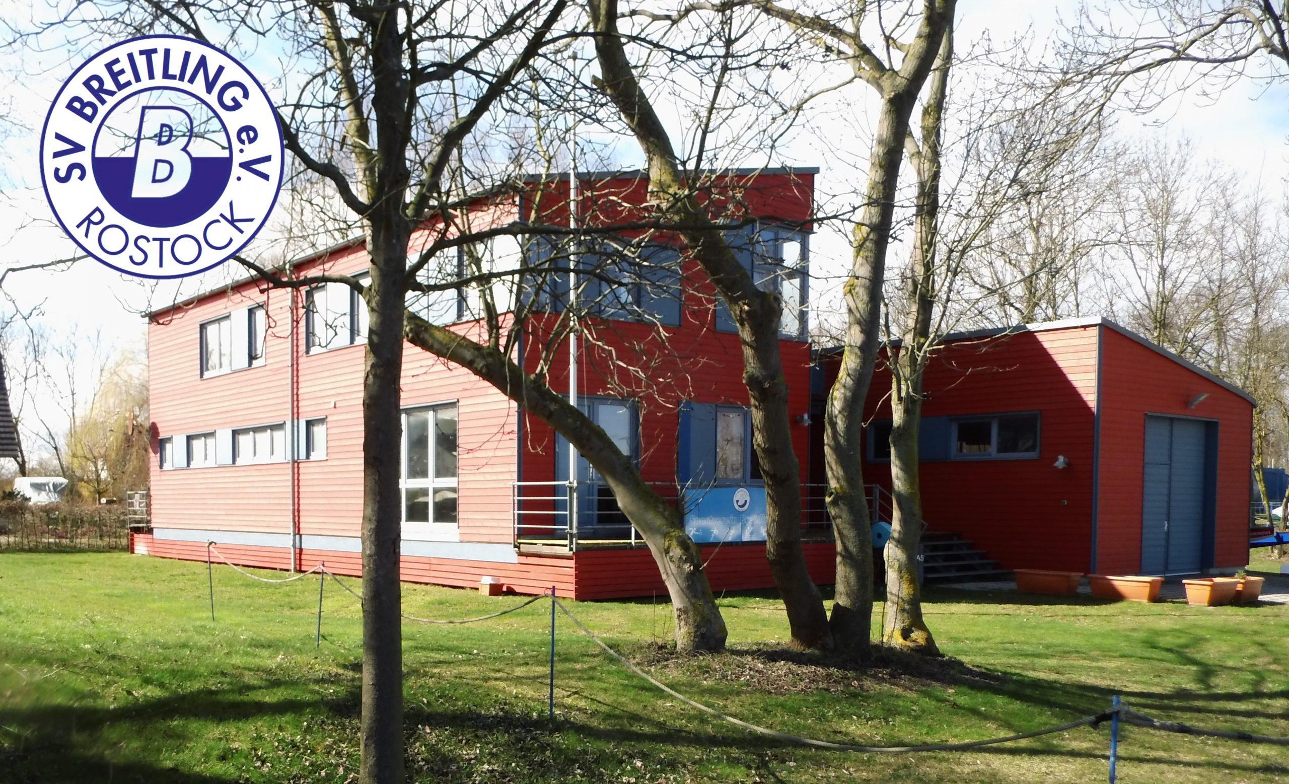 Bootshaus mit Logo
